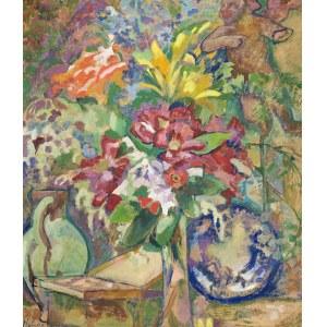 Kazimierz SICHULSKI (1879-1942), Martwa natura z puttem (1922)