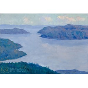 Bronisława RYCHTER-JANOWSKA (1868-1953), Lago Maggiore (1926)