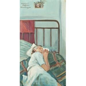 Wlastimil HOFMAN (1881-1970), Śpiąca - portret żony artysty (1944)