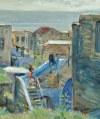 Wlastimil HOFMAN (1881-1970), Tyberiada - widok z okna (1943)