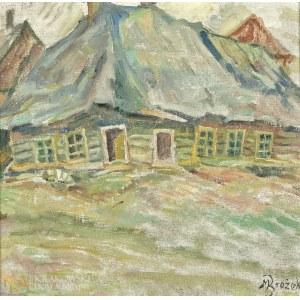 Maksymilian BROŻEK (1897-1977), Dom żydowski przy ul. Krakowskiej w Limanowej