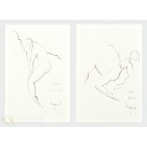 Matéo MORNAR (ur. 1946), Tańczące (cykl dwóch prac)