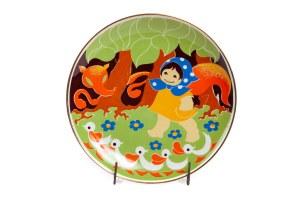 Talerz dekoracyjny z cyklu