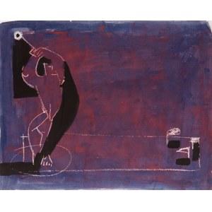 Golfista w purpurze - Jerzy NAPIERACZ (ur. 1929)