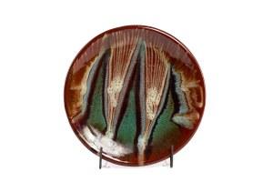 Talerz dekoracyjny - Spółdzielnia Przemysłu Ludowego i Artystycznego