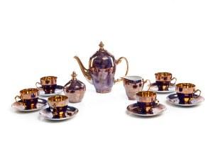 Serwis do kawy (mokki) na 5 osób - Zakłady Fajansu