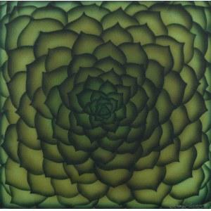 Hanna Rozpara, (ur. 1990), Sempervivum tectorum, 2021