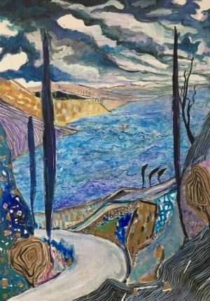 Tomasz Kuran (ur. 1971), Uciszenie burzy na jeziorze Genezaret, 2021