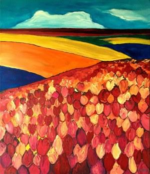 Ewelina Sztuka (ur. 1975), Tulipany, 2020