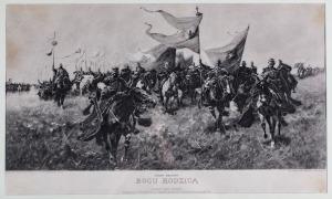 Józef BRANDT, BOGURODZICA, 1911