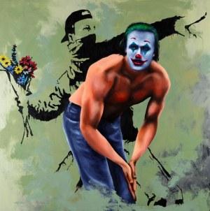 Jacek SIKORA, Ucieczka Banksy'ego, 2020 r.