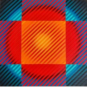 Michał WĘGRZYN, Color Vibration 23, 2020 r.