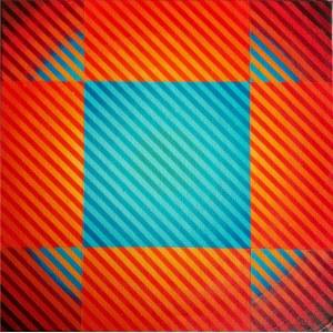 Michał WĘGRZYN, Color Vibration 25, 2020 r.