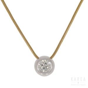 A diamond necklace, Italy, 20th century