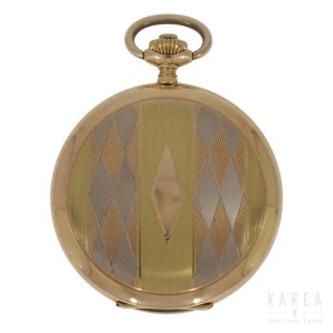 An Art Déco pocket watch
