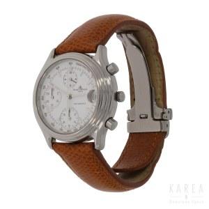 A gentleman's wristwatch chronograph, Baume & Mercier, Switzerland