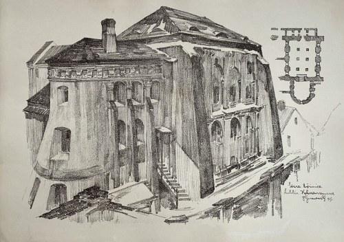 Jan Kanty GUMOWSKI (1883-1946), Stara Bożnica, Lublin Kalinowszczyzna, 1917