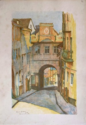 Jan Kanty GUMOWSKI (1883-1946), Brama Grodzka, 1917