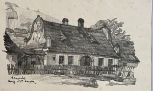 Jan Kanty GUMOWSKI (1883-1946), Stary Sącz, Domek