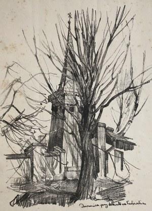 Jan Kanty GUMOWSKI (1883-1946), Dzwonnica przy klasztorze Tuchowskim