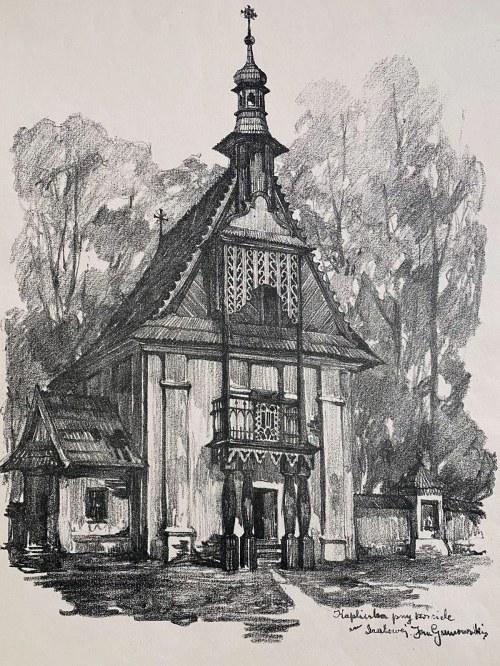 Jan Kanty GUMOWSKI (1883-1946), Kapliczka przy kościele w Szalowej