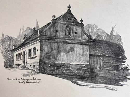 Jan Kanty GUMOWSKI (1883-1946), Dworek w Starym Sączu