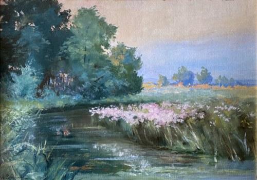 Walery BROCHOCKI (1847-1923), Nad Wieprzem