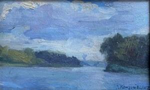 Jerzy KARSZNIEWICZ (1878-1945), Jezioro w Sypowicach