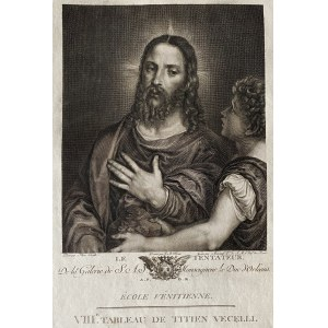 Ivan Archipovič BERSENIEFF (1762-1789) wg Tycjana (1489/90-1576), Le Tentateur
