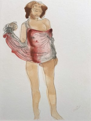 Henri BOUTET (1851-1919) / Auguste Rodin (1840-1917), Akt