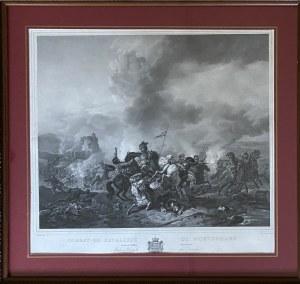 Philips WOUVERMANN (1619 - 1668), Bitwa kawalerii według Wouvermanna