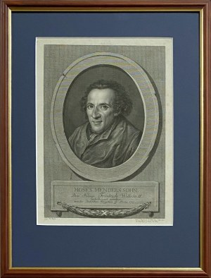 Johann Gotthard von MULLER (1747-1830), Moses (Mojżesz) Mendelssohn