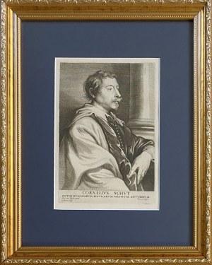 Lucas VORSTERMAN (1595-1675) wg Anthony van Dyck (1599-1641), Cornelius Schut (malarz flamandzki)
