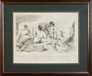 Francesco BARTOLOZZI (1727-1815), Venus i Adonis