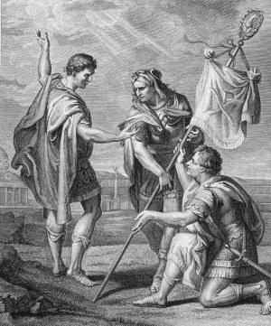 Jean Baptiste Liénard (1750-1807) wg Petera Paula Rubensa (1577-1640), Le labarum