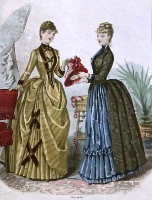 Anais TOUDOZE (1822-1899), La Mode Illustrée