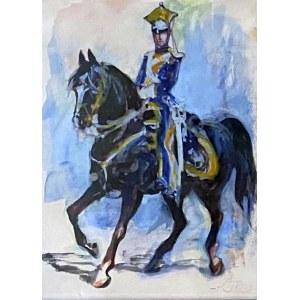 Antoni GAWIŃSKI (1876-1954), Szwoleżer