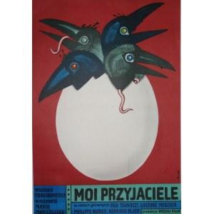 Jerzy FLISAK (1930 - 2008), Moi przyjaciele, 1976