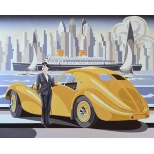 Tomasz Kostecki, Kobieta, Batory i żółte Bugatti, 2021