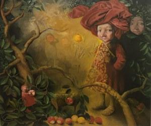 Katarzyna Słowiańska-Kucz, Mieszkańcy mojego ogrodu, 2021