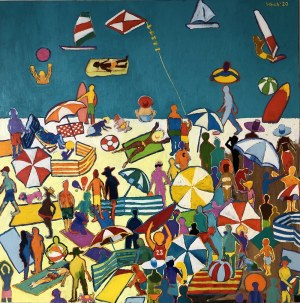 David Schab, Plaża, 2020