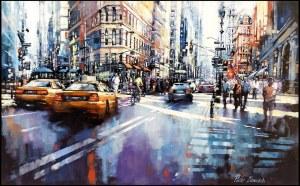 Piotr Zawadzki, Metropolis. New York Flatron, 2021
