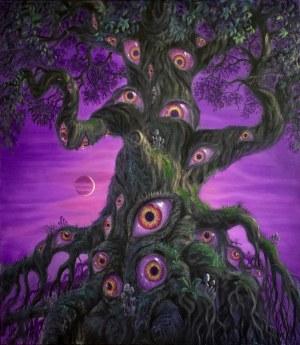 Konstantyn Płotnikow, The Tree is Watching, 2021