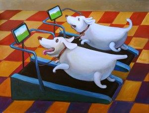 Grzegorz Walter, Covid-dogs, 2021