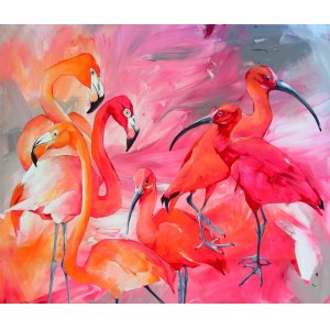 Sylwia Wenska, Flamingi kontra Ibisy, 2021