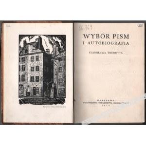 Stanisław Thugutt - Wybór pism i Autobiografia [Ilustr. Tadeusz Cieślewski Syn]
