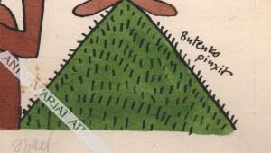 Bohdan Butenko (1931-2019) - [rysunek, lata 1980-te] Echo Uczeń