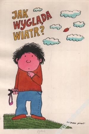 Bohdan Butenko (1931-2019) - [rysunek, lata 1980-te] Jak Wygląda Wiatr?