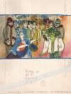 Bożena Truchanowska (Ur. 1929) - [Rysunek, Ok. 1990] O Dwunastu Miesiącach