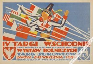 Tadeusz Gronowski (1894-1990) - [Plakat, 1924] Iv Targi Wschodnie